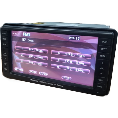 MITSUBISHI MULTI COMMUNICATION SYSTEM STEREO REPAIR SERVICE