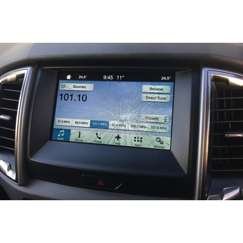 FORD SYNC 3 SMASHED CRACKED SCRATCHED TFT SCREEN