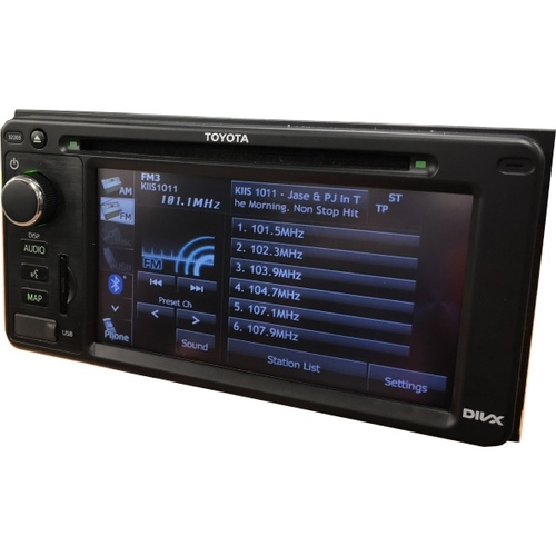 TOYOTA KLUGER KX STEREO RADIO REPAIR SERVICE